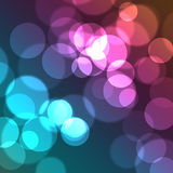Kleurrijke Cirkels Royalty-vrije Stock Afbeeldingen