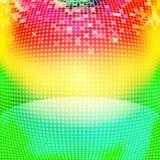 Kleurrijke cirkels abstracte achtergrond stock illustratie