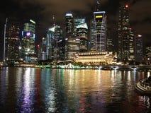 Kleurrijke cityscape bij de Baai van de Jachthaven Royalty-vrije Stock Foto's