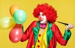 Kleurrijke clown stock fotografie