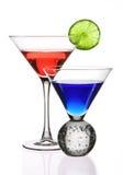 Kleurrijke Cocktails Stock Afbeeldingen