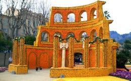 Kleurrijke coliseum Stock Foto's