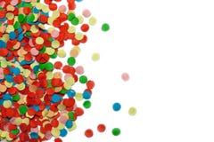 Kleurrijke confettien royalty-vrije stock afbeelding