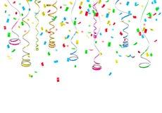 Kleurrijke confettien Stock Foto