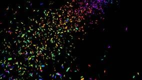 Kleurrijke confettien