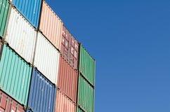 Kleurrijke container Stock Fotografie