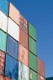 Kleurrijke container Stock Foto's