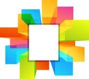 Kleurrijke copyspaceachtergronden - 2 stock illustratie
