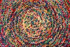 Kleurrijke crochet textuur, patroon royalty-vrije stock afbeelding