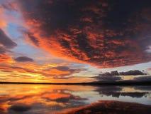 Kleurrijke dageraad Stock Foto