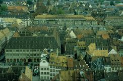 Kleurrijke daken Royalty-vrije Stock Foto