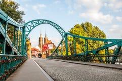 Kleurrijke daling van Wroclaw Royalty-vrije Stock Fotografie