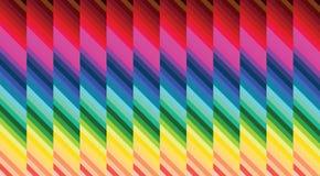 Kleurrijke de hypnoseachtergrond van het parket Stock Foto