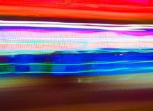Kleurrijke de lijnachtergrond van het snelheidsonduidelijke beeld Stock Afbeelding