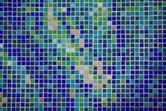 Kleurrijke de muurachtergrond van het glasmozaïek Royalty-vrije Stock Afbeelding