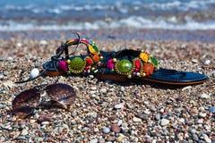 Kleurrijke de zomertoebehoren Royalty-vrije Stock Fotografie