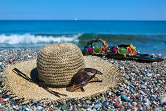 Kleurrijke de zomertoebehoren Stock Foto's