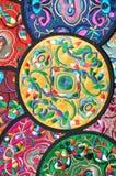 Kleurrijke decoratie in Chinese in traditionele stijl stock afbeelding