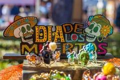 Kleurrijke decoratie voor Dag van Dood/Dia DE los Muertos cele stock foto's