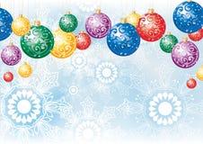 Kleurrijke decoratieballen Stock Afbeeldingen