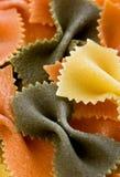Kleurrijke deegwaren stock foto's