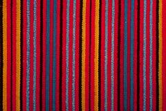 Kleurrijke deken Stock Foto's