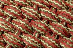 Kleurrijke deken royalty-vrije stock fotografie