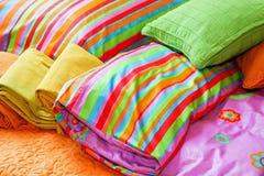 Kleurrijke deken Royalty-vrije Stock Foto's