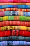 Kleurrijke deken Stock Afbeelding