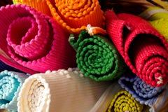 Kleurrijke Dekens Stock Fotografie