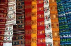 Kleurrijke dekens Royalty-vrije Stock Fotografie