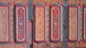 Kleurrijke deur! Royalty-vrije Stock Foto's