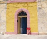 Kleurrijke deur Stock Afbeeldingen
