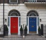 Kleurrijke deuren Royalty-vrije Stock Afbeeldingen