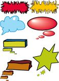 Kleurrijke dialoogbellen Royalty-vrije Stock Afbeelding