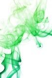 Kleurrijke die Rook op Witte Achtergrond wordt geïsoleerd Stock Fotografie