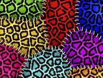 Kleurrijke dierlijke huid Royalty-vrije Stock Fotografie
