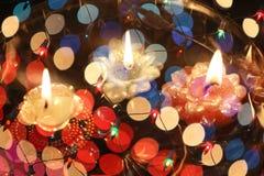 Kleurrijke Diwali-Samenvatting Royalty-vrije Stock Afbeelding