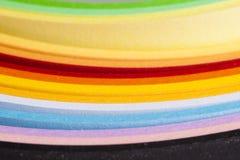 Kleurrijk document Royalty-vrije Stock Afbeelding