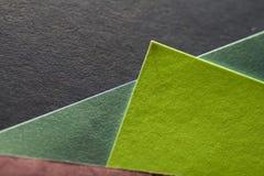 Kleurrijke document bladen Royalty-vrije Stock Foto