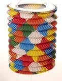 Kleurrijke document lantaarn Royalty-vrije Stock Foto's