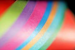 Kleurrijke document listige en abstracte achtergrond stock afbeeldingen