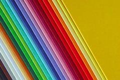 kleurrijke document macrotextuurachtergrond Royalty-vrije Stock Foto