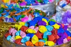 Kleurrijke document sterren van Thailand Stock Afbeelding