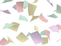 Kleurrijke documenten Stock Afbeeldingen