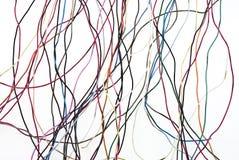 Kleurrijke draad Stock Afbeelding