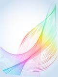 Kleurrijke Draad Abstracte Achtergrond Royalty-vrije Stock Foto's
