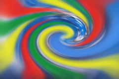 Kleurrijke draai Royalty-vrije Stock Foto's