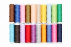 Kleurrijke draden Stock Afbeelding