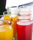 Kleurrijke dranken Royalty-vrije Stock Foto's